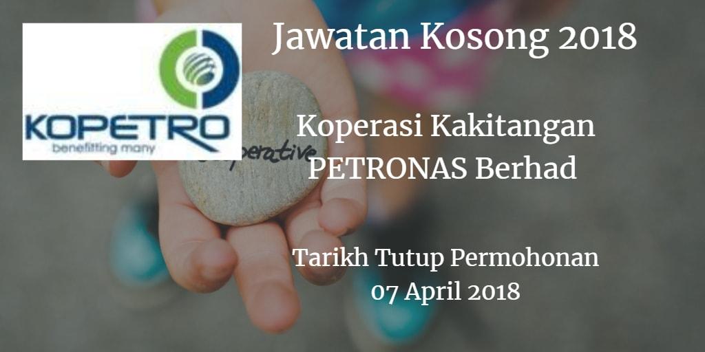 Jawatan Kosong KOPETRO 07 April 2018