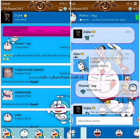 BBM+ mod Doraemon