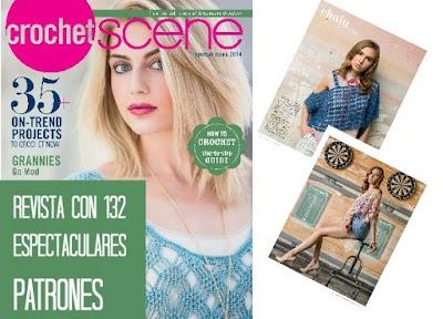 Revista crochet 132 paginas patrones