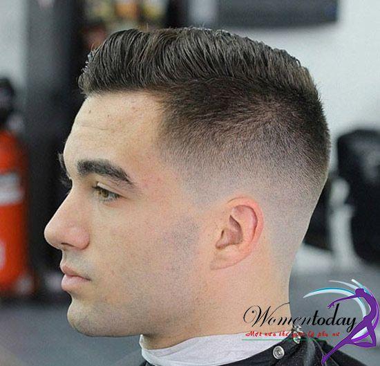 Kiểu tóc undercut ngắn cho tóc dày