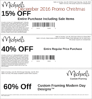 Discount coupons december
