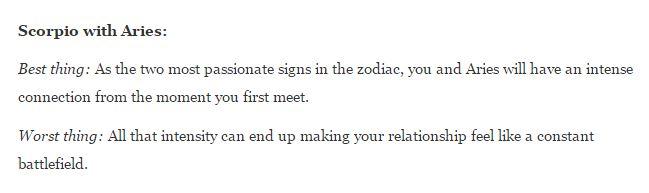 12 Quotes about SCORPIO - ARIES Relationships | Scorpio Quotes