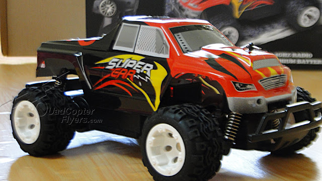 WLToys L343 Monster Truck Car side View