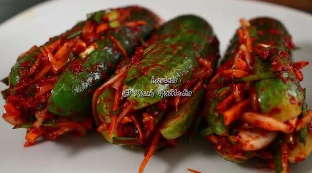 Resepi kimchi timun pedas
