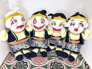 Boneka Tokoh Wayang Punokawan
