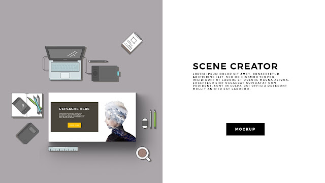 Free Infographic Scene Creator for Powerpoint Template Slide 1