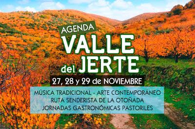 Otoñada en el Valle del Jerte. Fechas, eventos, programa