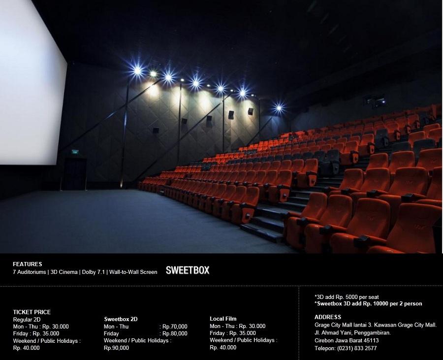 Alamat CGV Cinemas Grace City Mall Cirebon