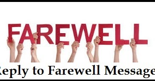 Farewell Messages – Wordings and Messages