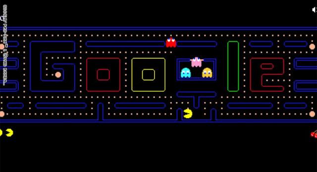 10 ألعاب في شعارات Google المبتكرة الرائجة