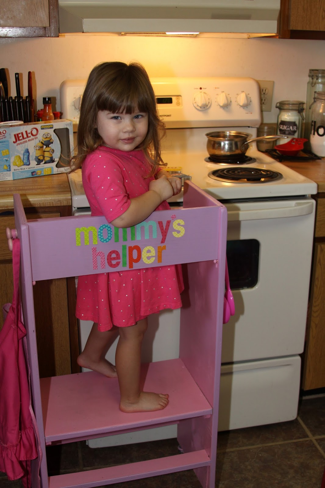 For The Love Of Food Diy Kid S Kitchen Helper Stool