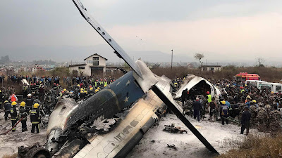 At least 50 dead after plane crashes at Nepal's Kathmandu airport
