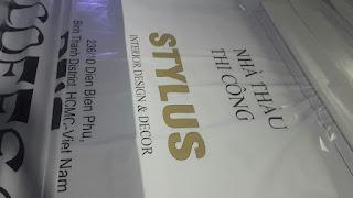 in backdrop công trình xây dựng STYLUS
