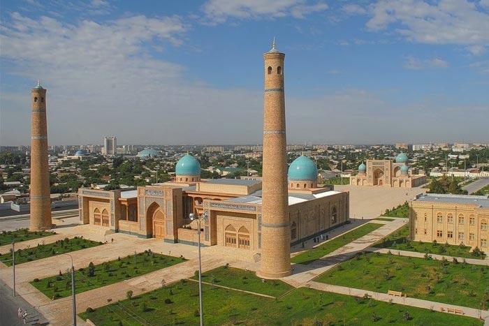 Journey to Silk Road: Hayxona Dunia Laki-Laki Tashkent