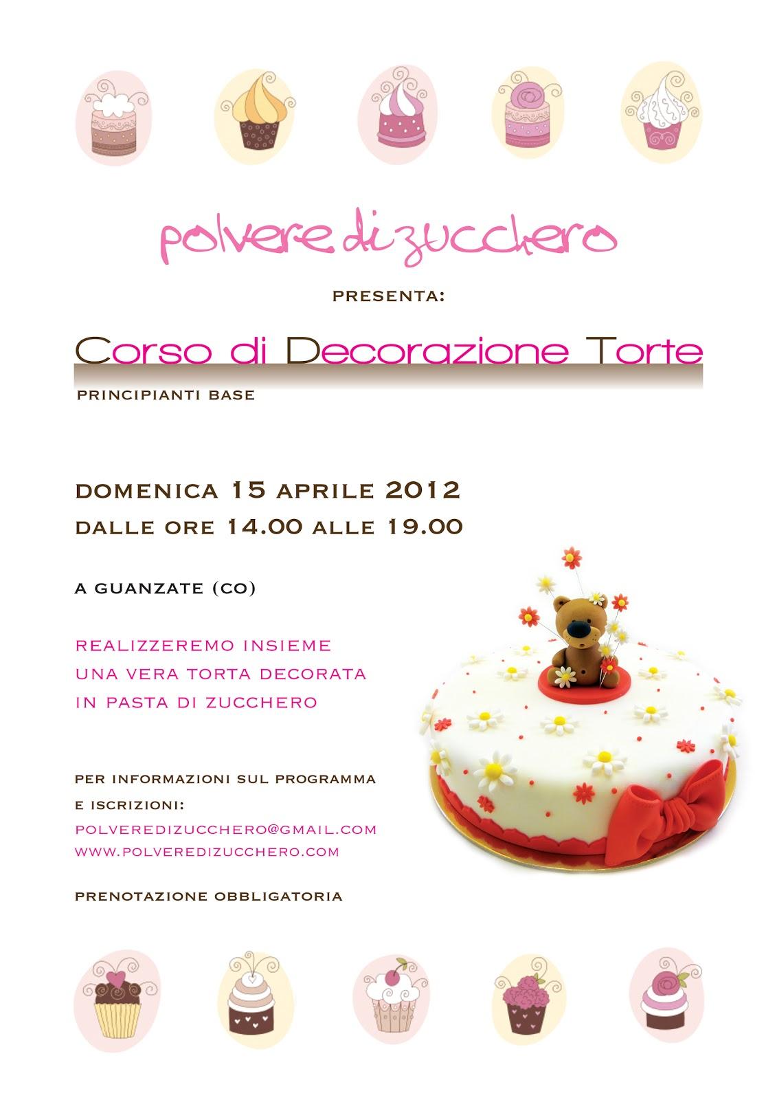 Corso di cake design polvere di zucchero cake design e for Corso di fashion design