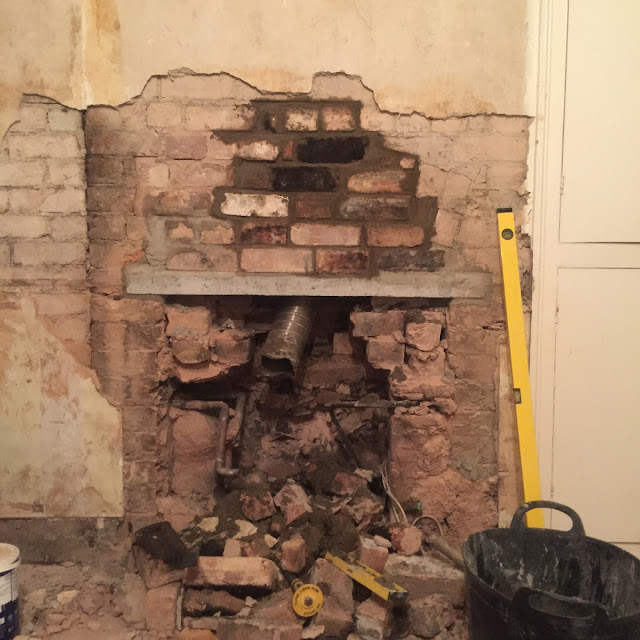 chimney without a lintel