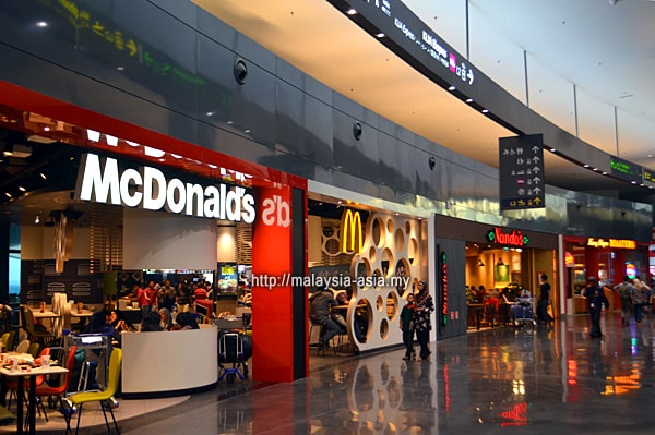 KLIA 2 Fast Food Restaurants