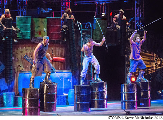 STOMP - Jaw dropping excitement at the Straz Center, Tampa