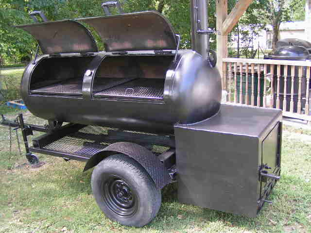 smoker reverse smokers flow gallon 250 homemade grills bbq trailer building build pit grill propane tank offset diy cooker barbecue