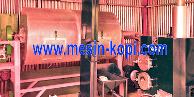 mesin drum dryer kopi