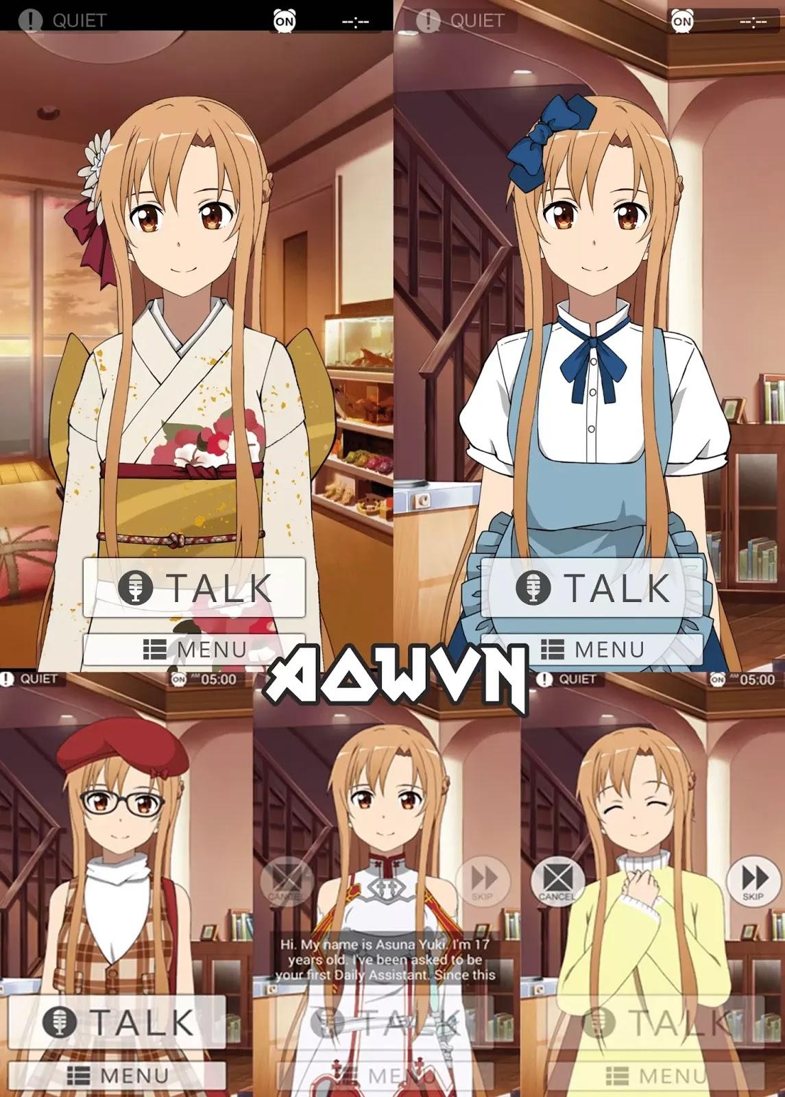 AowVN.org Wake me up asuna m%2B%25284%2529 - [ HOT ] Wake Me Up Asuna | Để Asuna gọi bạn dậy - Android