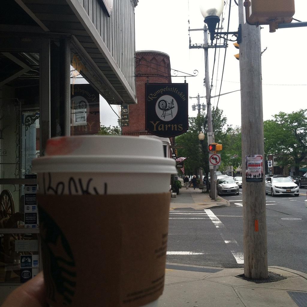 Long Island Saying Coffee
