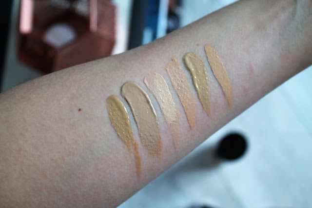 The best foundation for light olive skintones - swatches