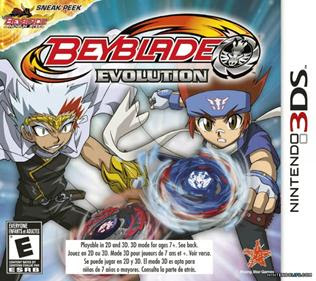 Beyblade Evolution 3DS, Español, Mega