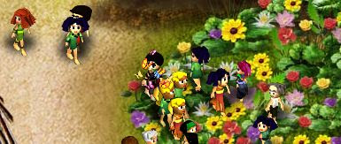 Butterfly - kupu-kupu di virtual villagers origins cara menyelesaikan tips dan trik walkthrogh oleh rev-all.blogspot.com