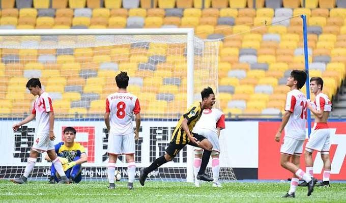 AFC U-16: Malaysia Bedal Tajikistan