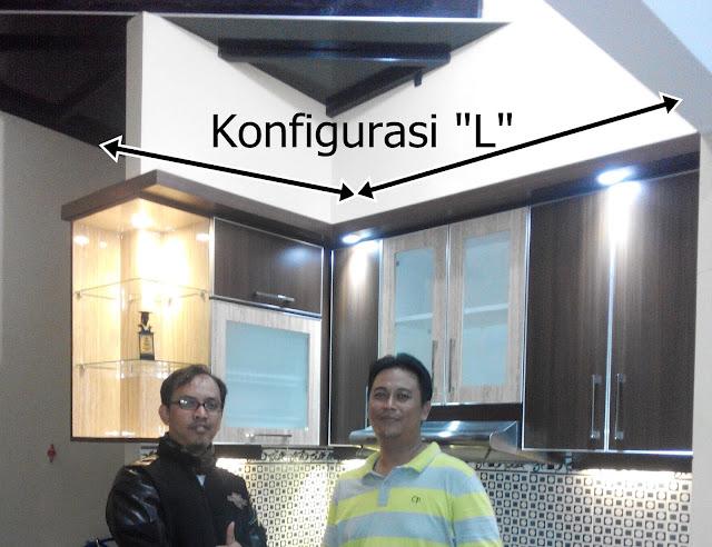 Desain Kitchen Set Mungil