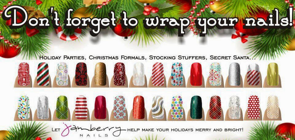 Christmas Jamberry Nail Wraps