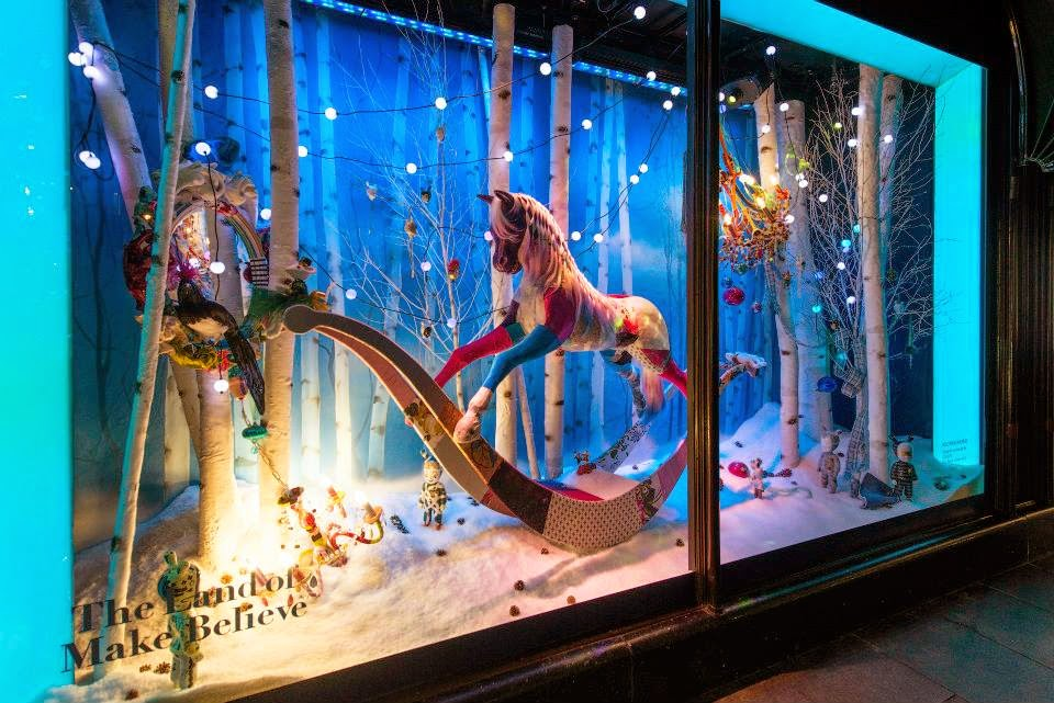 Harrods, escaparates de navidad, The Land of Make Believe, Squint Limited