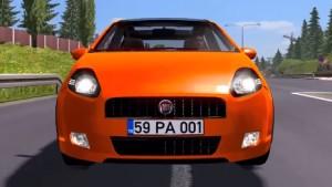Fiat Grande Punto T-JET car mod