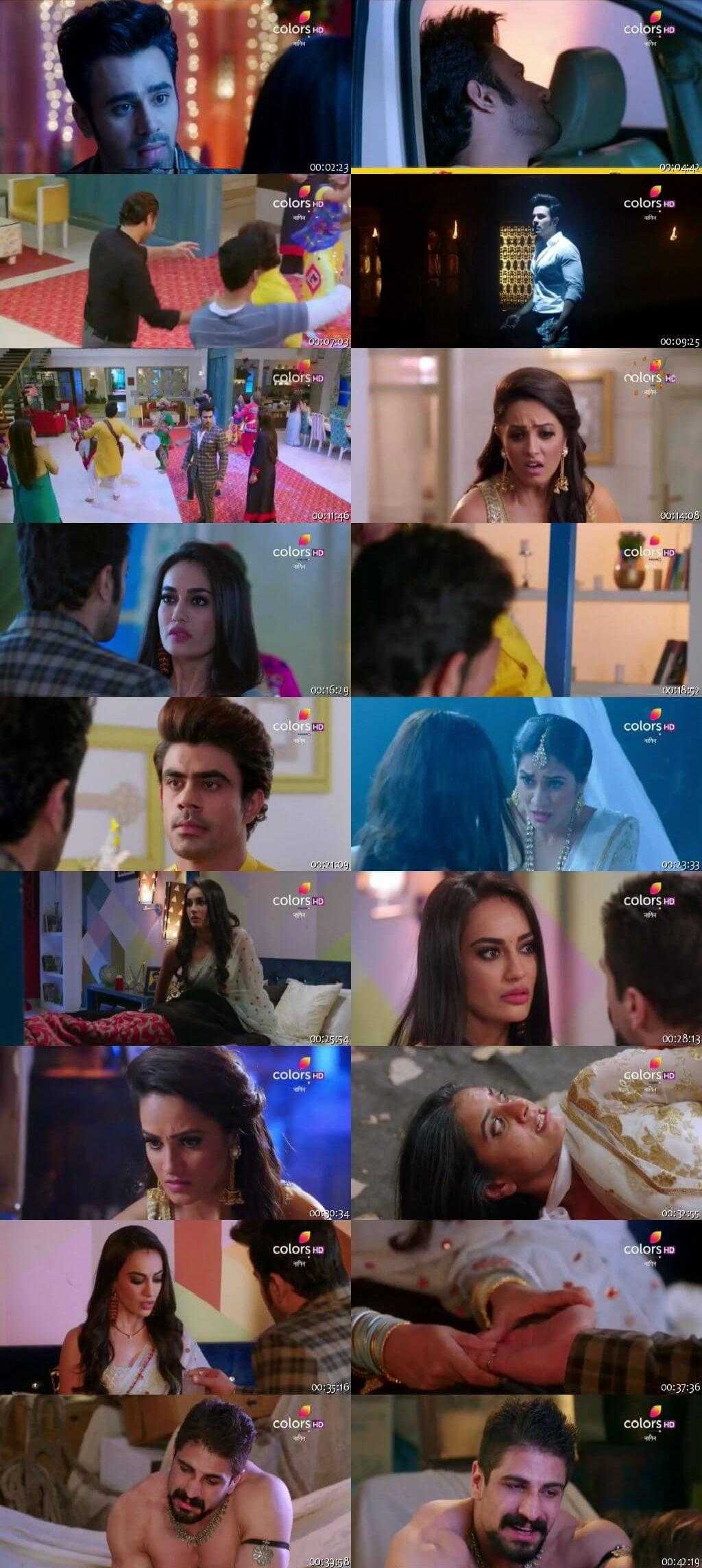 Screenshots Of Hindi Show Naagin Season 3 2018 Episode 39 300MB 480P HD
