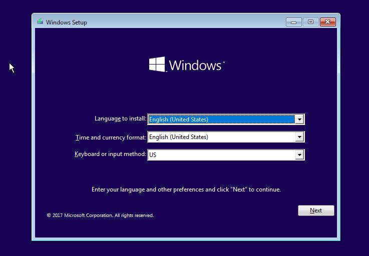 Hướng dẫn cài đặt Windows 10 S