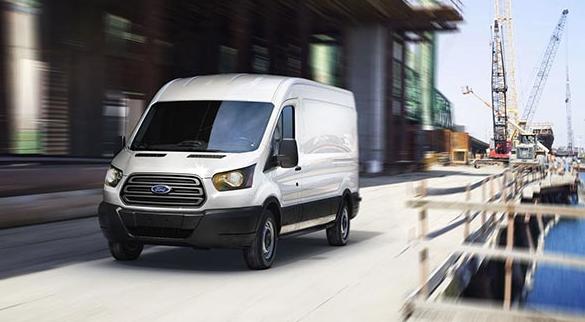 2016 Ford Transit White