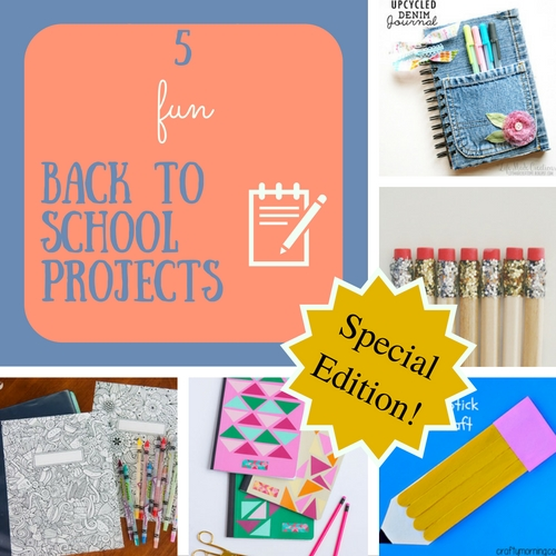 5 fun back to school projects