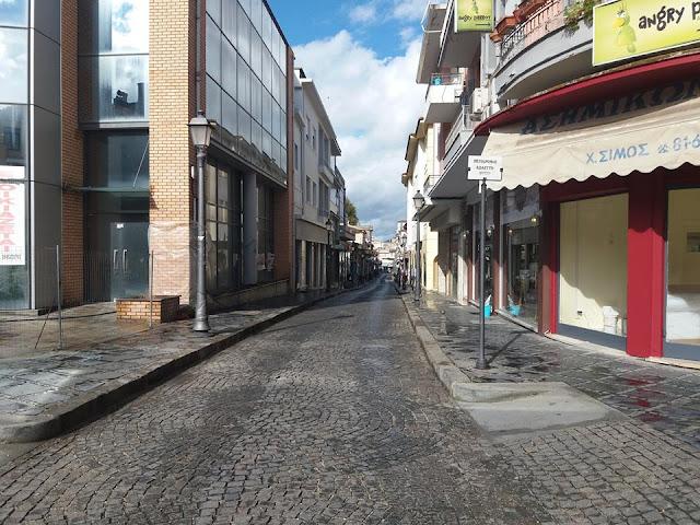 Γιάννενα: Δρόμοι Που Άλλοτε ..Έσφυζαν Απο Ζωή ...