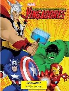 Os Vingadores: Vol. 1 Heróis Unidos – Dublado