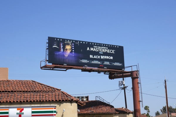 Black Mirror USS Callister Emmy FYC billboard