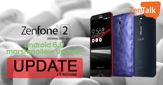 Cara Update Marshmallow ASUS Zenfone 2 (ZE551ML) Sudah Tersedia