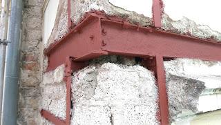 entrostete Stahlträger altbau fassadensanierung belz stuck bonn