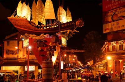 Jonker Walk Tempat Menarik di Melaka