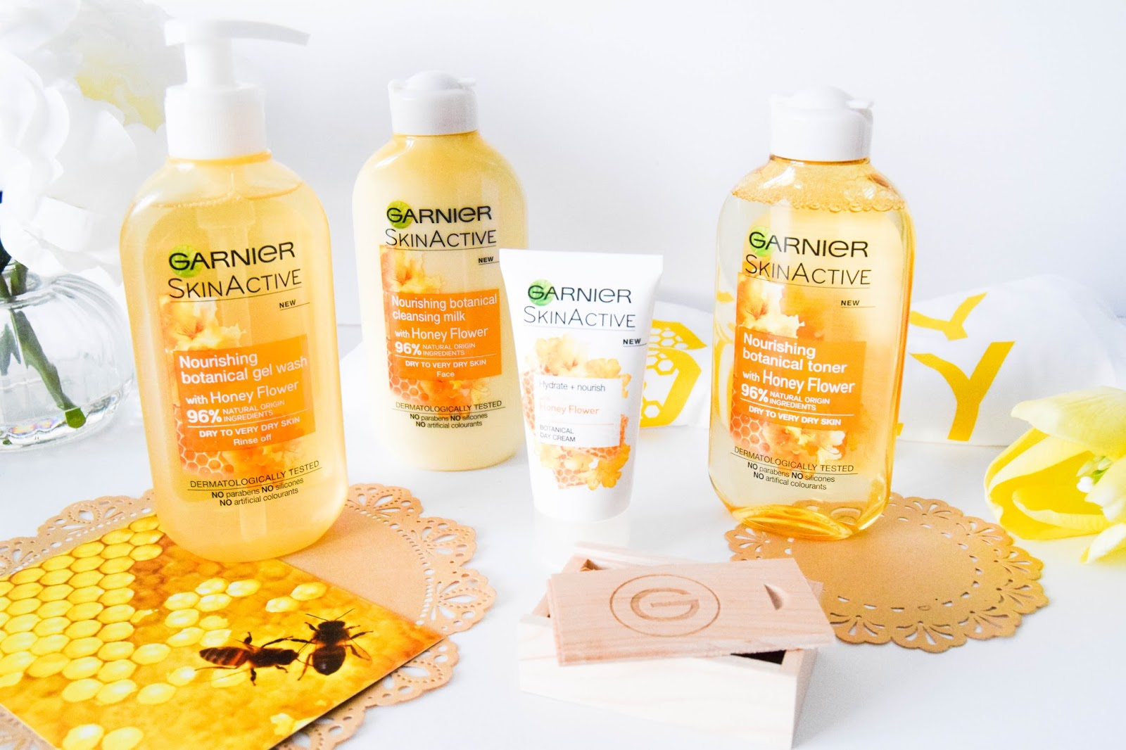 Garner Skin Active Botanical Honey Milk Collection