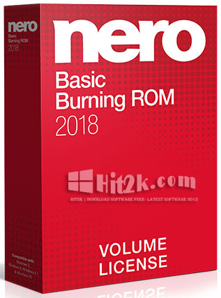 Nero Burning ROM 2018 Crack With Patch [Is here]