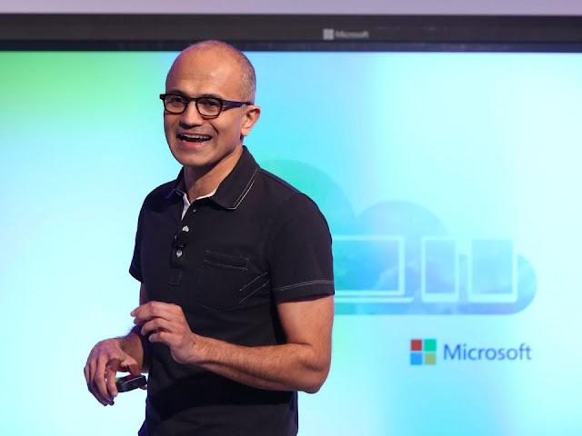 Microsoft. Nilai RepTrack: 77,0.