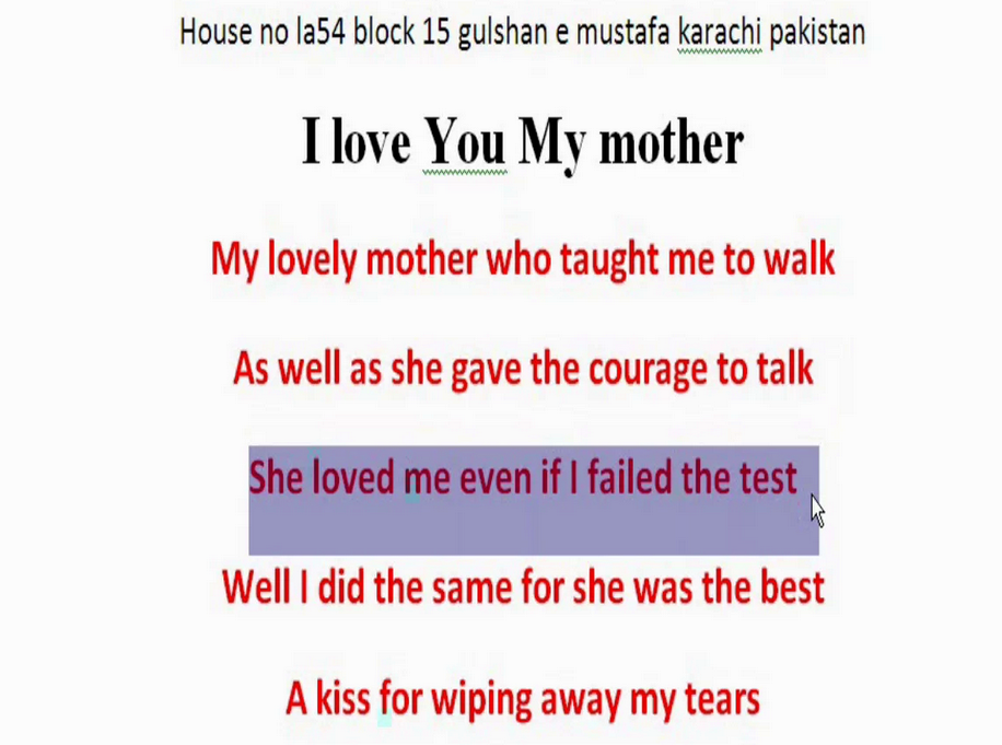 mother quotes in english - photo #36