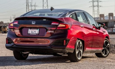 2017 Honda Clarity Fuel Cell : 2017 electric cars