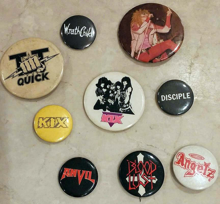 Band Buttons